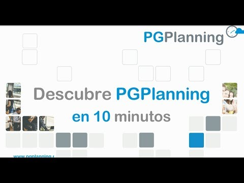 Vídeo Demo PGPlanning (10 minutos)