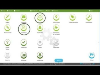 Primeros pasos en PGPlanning.es, programa de cuadrantes de personal y turnos de trabajo