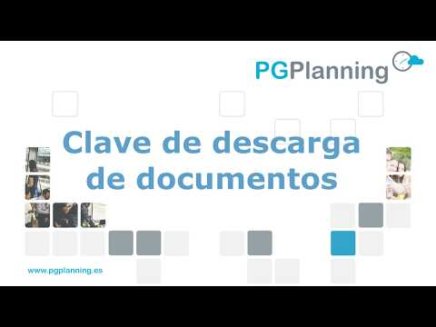 Clave de descarga de documentos