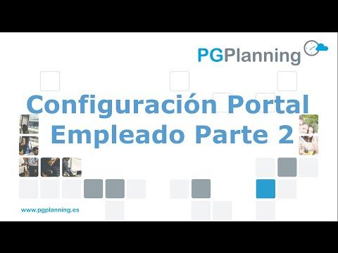 Configuración y opciones del portal del empleado (2ª parte)