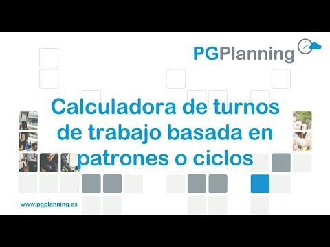Calculadora de turnos de trabajo basada en patrones o ciclos