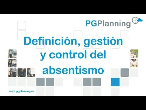 Definición, gestión y control del absentismo