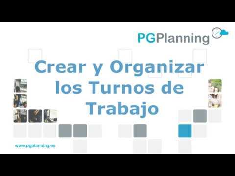 Crear y organizar turnos de trabajo