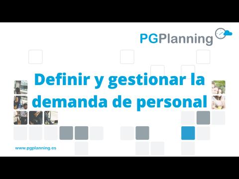 Definir y gestionar la demanda de personal