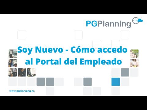 Como acceder por primera vez al portal del empleado en PGPlanning